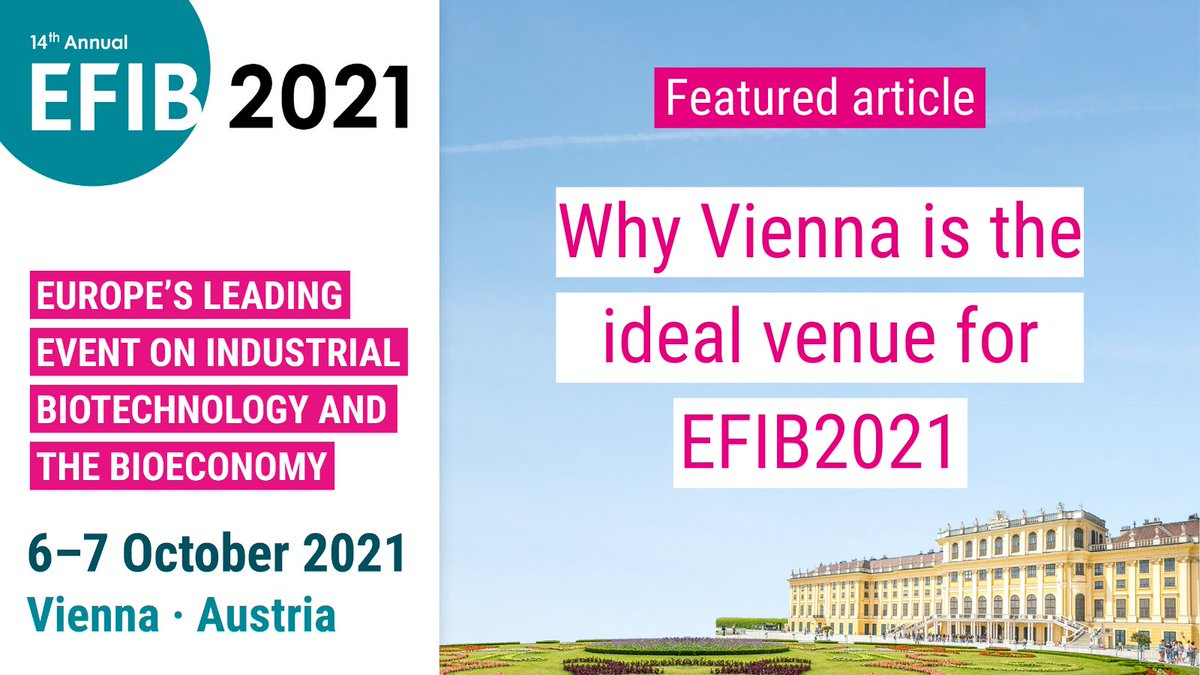 test Twitter Media - Catch up on this interview with @EuropaBio and the Vienna Business Agency on why Vienna is the ideal venue for #EFIB2021!   Read now ▶️ https://t.co/xz4PxOaikz https://t.co/s1Oc453cvN