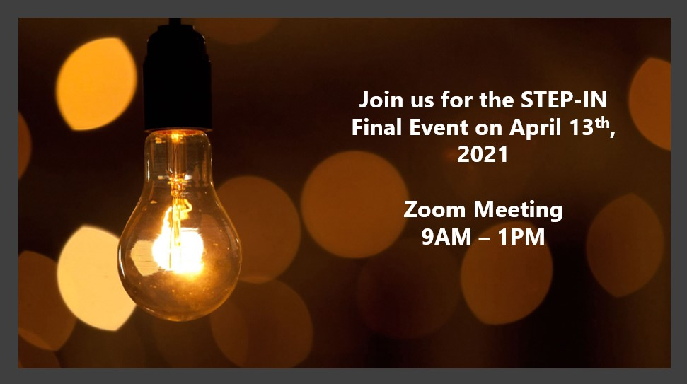 🗓️ 13 April -@STEPIN_project Final Event! Over the past 3 years & with the help of #LivingLabs, the team has developed a #globalmethodology for the effective analysis & tackling of #energypoverty. Results, success stories and the way forward are presented. @EU_H2020 @EUEnergyNews