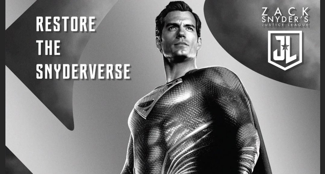 #RestoreTheSnyderVerse everybody needs to get on board with this, Zack Snyder needs to put his vision on film for us all to see, 4 hours is just not enough, we need MORE!! https://t.co/KHG4uqT06a