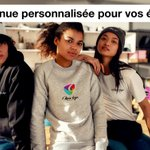 Image for the Tweet beginning: Personnalisez la tenue de vos