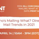 Image for the Tweet beginning: Who's Mailing WHAT?Discuss 2021 #DirectMail