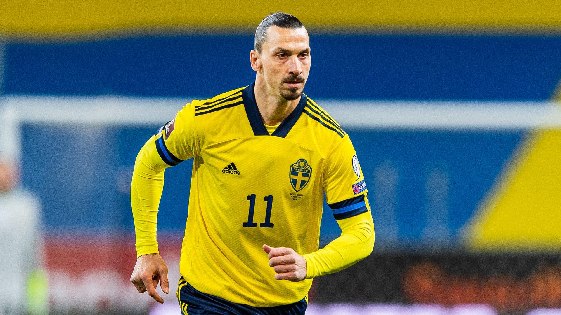 """Invictos on Twitter: """"Después de 4 años, 9 meses y 3 días, Zlatan  Ibrahimovic volvió a jugar con la Selección absoluta de Suecia. Y el  delantero de 39 años solo tardó 35"""