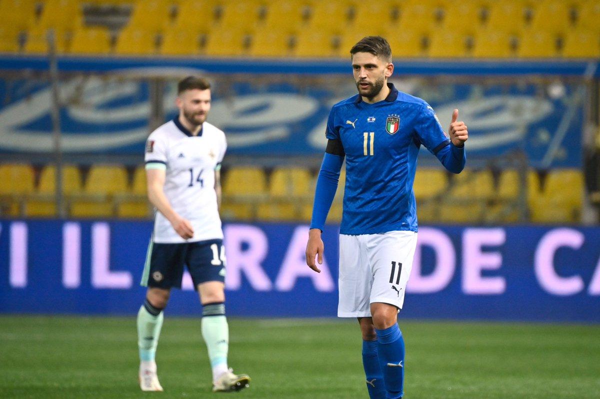"Italian Football TV on Twitter: ""Domenico Berardi for Italy: 3 games, 3  goals 🇮🇹⚽️… """