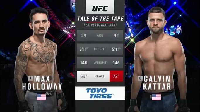 Estelares Evento Principal de la noche Holloway vs Kattar GG Holloway por DU (50-42, 50-43, 50-43) #UFC  #UFCFightnight  #UFCFightIsland7 #UFCCR14Mx https://t.co/stR869zZba