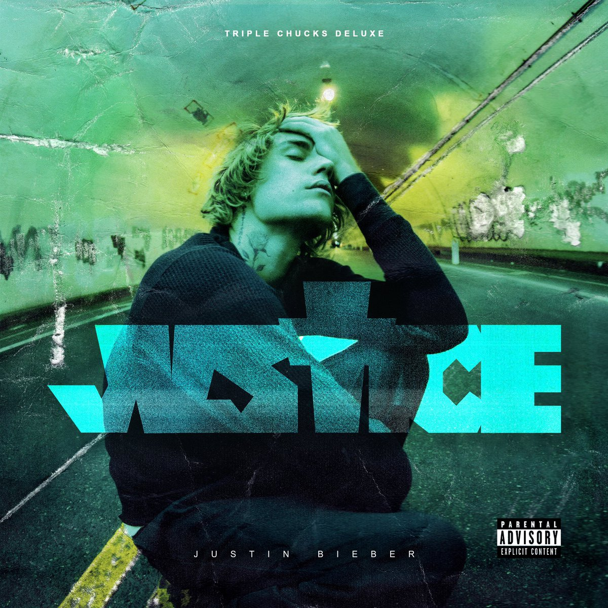 Justice triple chucks deluxe out now @LilUziVert @Jaden @QuavoStuntin @DaBabyDaBaby @ToriKelly