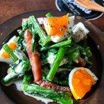 お家で春の味覚を味わおう!「菜の花」のサラダの作り方!