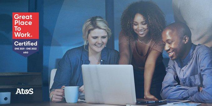 Orgullosos de ser una empresa certificada por Great Place to Work® 🧑💻...