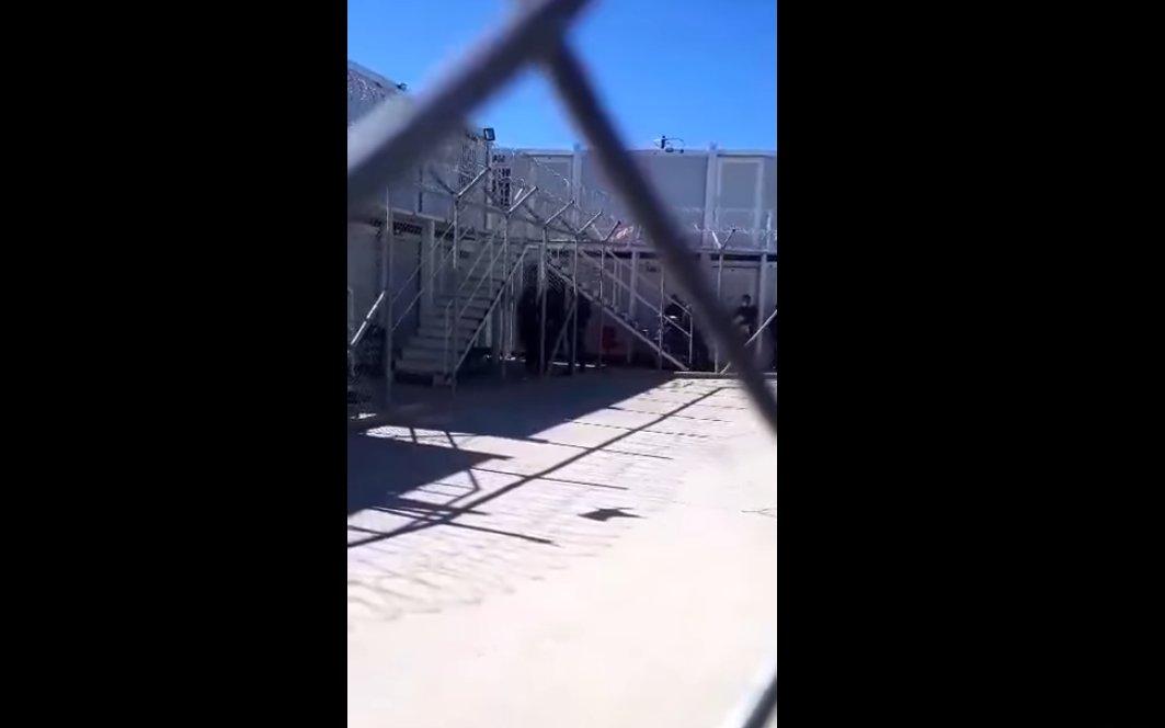 #prisonGr  #Antireport #refugees