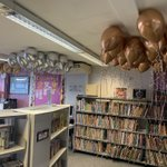The balloons are ready for the Reading Award winners this term!