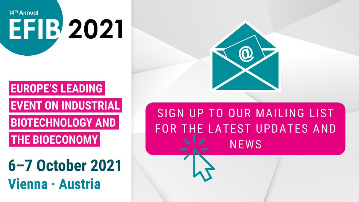 test Twitter Media - 📣Don't miss an update on EFIB2021!  Sign up to our mailing list and get the all latest news directly in your inbox 📬  ➡️https://t.co/ecNyURd1Ud https://t.co/P8uRyBsS7q