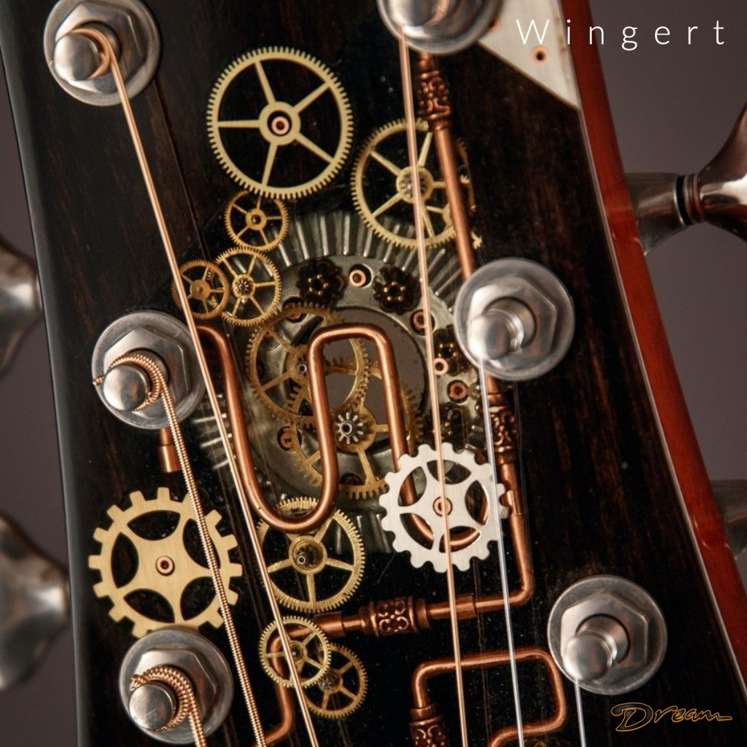 #Steampunk ⚙️ Awesome of the Day ⭐ ➡️ Custom #Guitar 🎸 Headstock & Machine Heads Made By Kathy Wingert via @dreamguitarsnc #SamaGuitars #SamaMusic 🎶 ➡️ View More #SamaCollection 👉 https://t.co/Kugls3IJqU