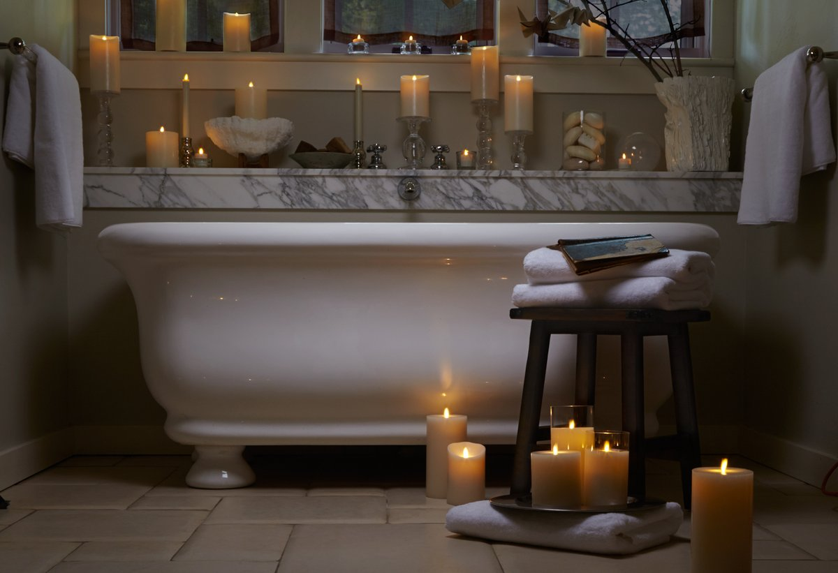 When a #bathroom becomes a sanctuary... Click here for more inspo hubs.ly/H0JYPsq0
