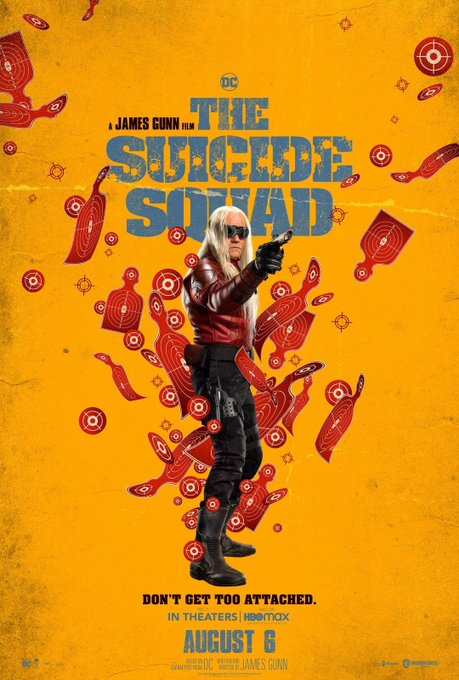 The Suicide Squad Character Posters Revealed 6