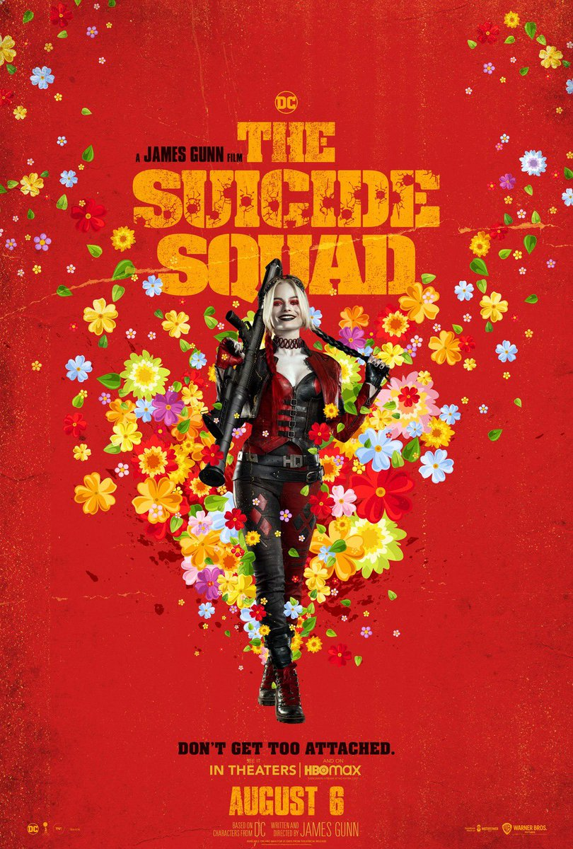 The Suicide Squad Character Posters Revealed