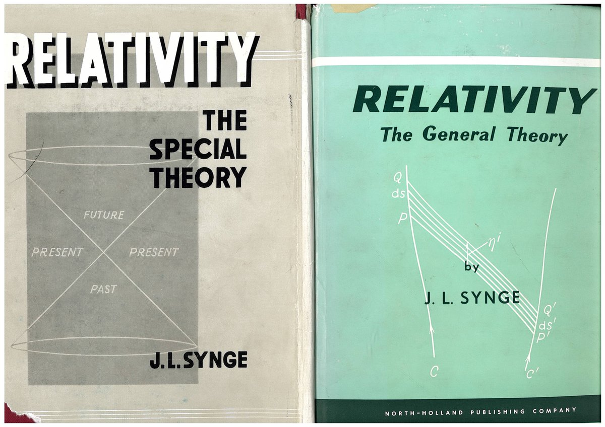 test Twitter Media - STP, DIAS : Celebrating Synge Week - 23-30 March 2021. Day Four - Synge presented Eamon de Valera with signed first editions of Relativity: The Special Theory (1956) & Relativity: The General Theory (1960). Both are housed in the de Valera Collection in the STP Library https://t.co/8nvnnyb9oh