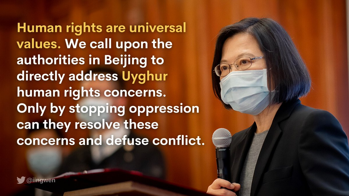 """With the rights of Xinjiang's Uyghur people back in the international spotlight, Beijing can only avoid further confrontation if it stops its oppression of Uyghurs & starts acting like the """"responsible great power"""" it says it wants to become. https://t.co/kDxTaZUVXy"""