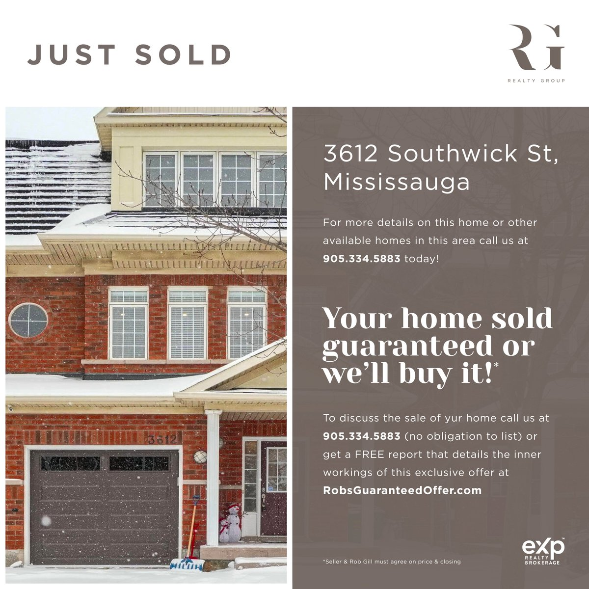 We Sold This Home For $212,000 Over Asking Only In 10 Days!!! We Have Over 3,600 Buyers Looking For A Home Just Like Yours! Your Home May Already Be Sold! To Discuss the Sale of Your Home Call Us at (905) 334-5883  #marchforth #expproud #exprealty #justsold  #topproducers