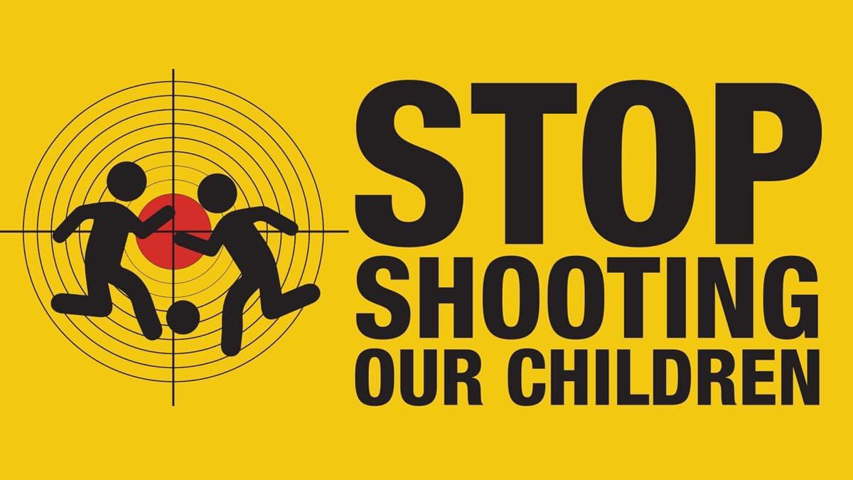 Stop shooting our children and young people https://t.co/ONuy4yXXK7