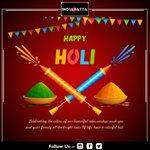 """🅗🅐🅟🅟🅨 🅗🅞🅛🅘  ये रंगो का त्यौहार आया है, साथ अपने खुशियाँ लाया है, हमसे पहले कोई रंग न दे आपको, इसलिए हमने शुभकामनाओंका रंग, सबसे पहले भिजवाया है… #हैप्पीहोली """". 💰♥️💰👉 https://t.co/Jh9tejzRKq #holi #happyholi #india #holifestival #love #satta #matka #dpboss #casino"""