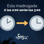 Image for the Tweet beginning: Esta madrugada, a las 🕑