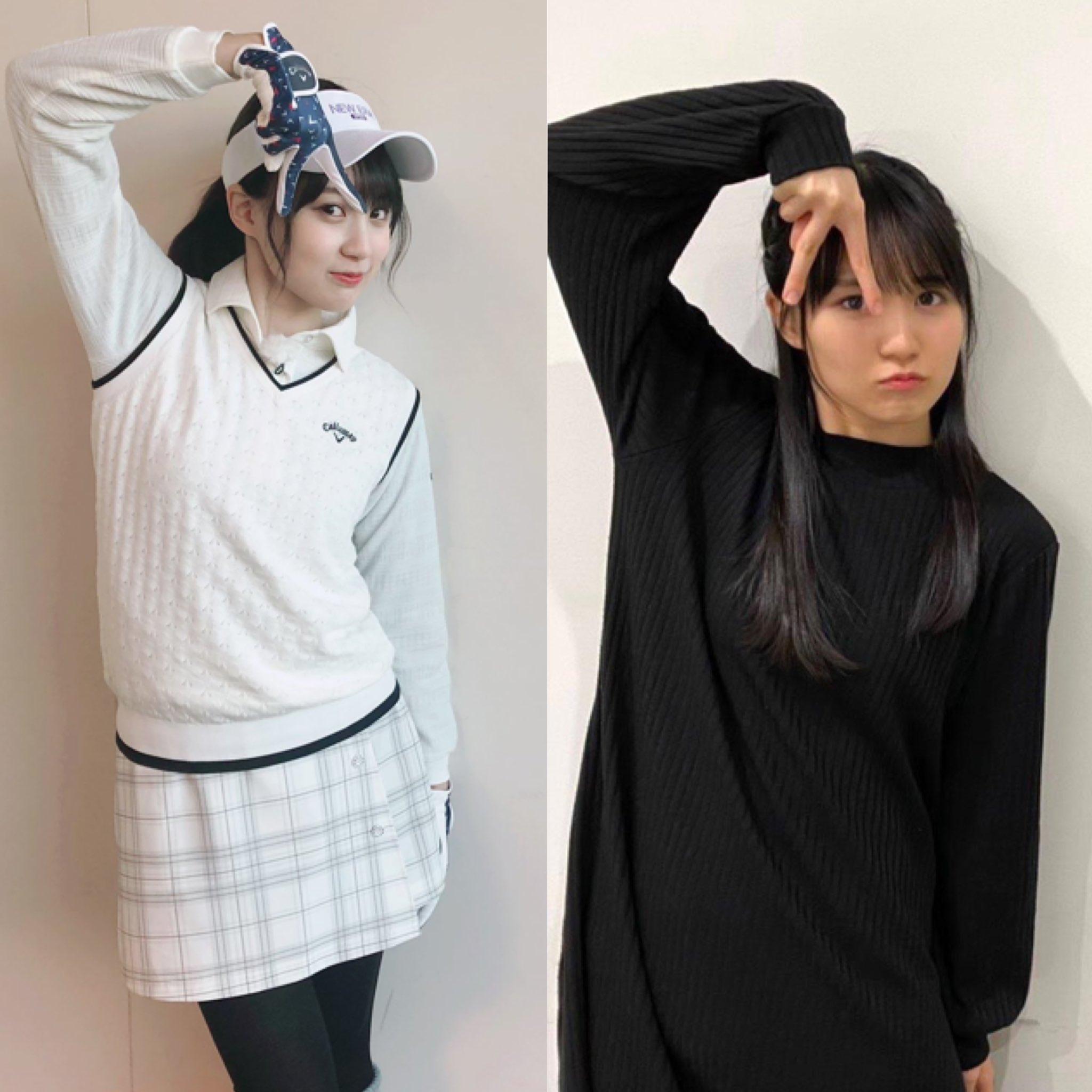 賀喜遥香(かきはるか)と小島健の匂わせその④:Aぇ!ポーズ