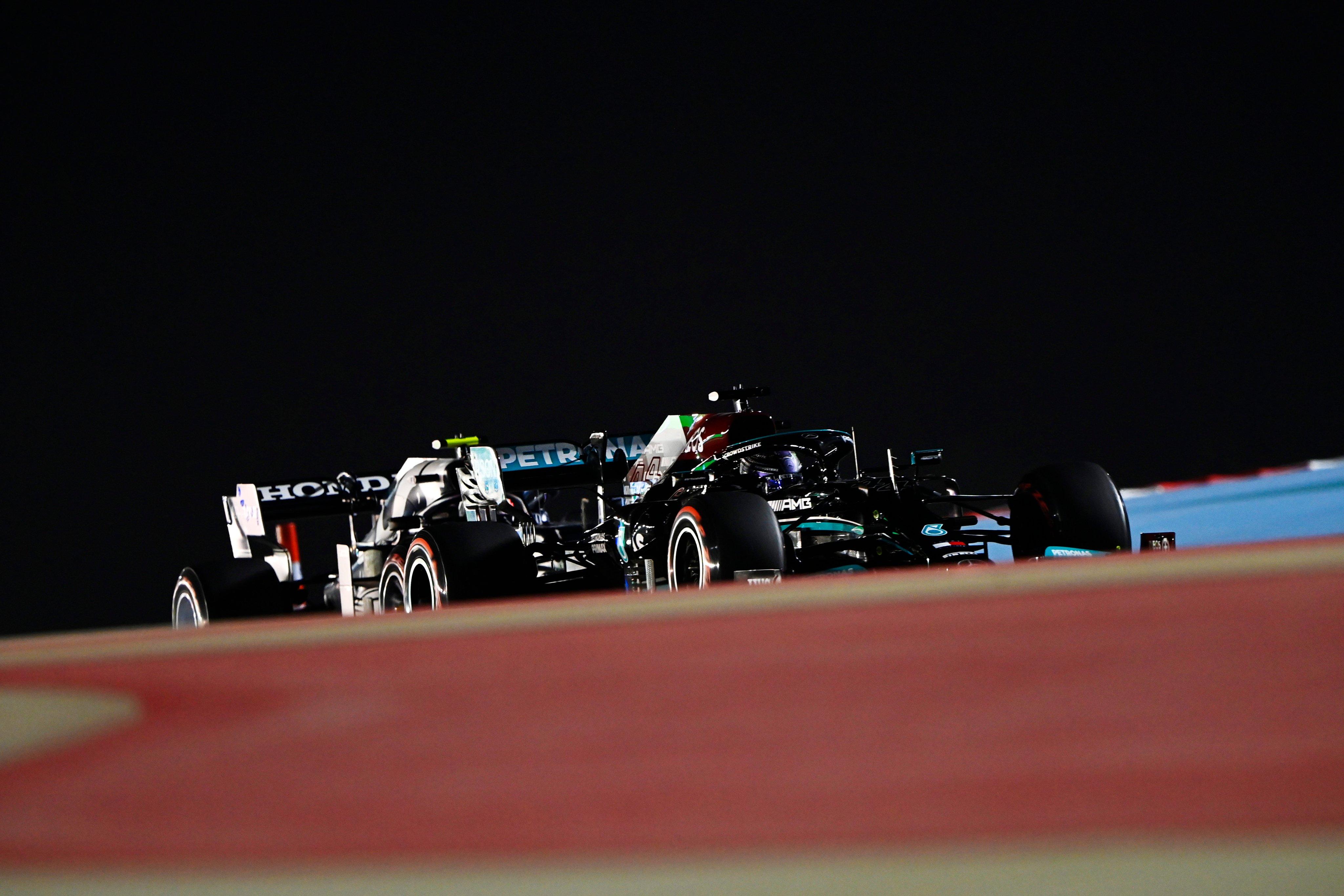 Mercedes, kwalifikacje do GP Bahrajnu