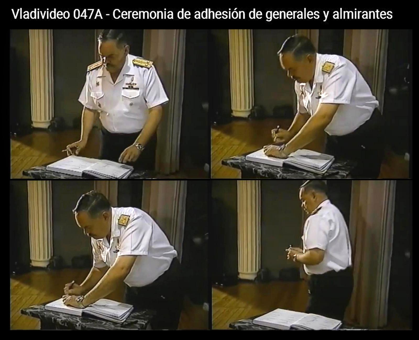 """Jorge Montoya firmó """"Acta de Sujeción"""" para blindar a Fujimori y Montesinos"""