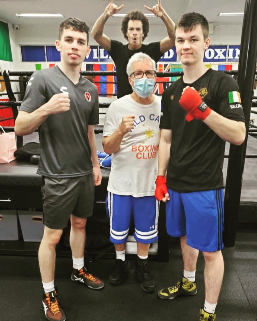 The McKenna's and a cameo from Blair Cobbs - Training Camp 2021 - @stevie_mckenna @Aaronmckenna99 @HennessySports @GHannley @GoldenBoyBoxing #wildcardboxing #boxing #Ireland #USA #boxers #trainers #training @FreddieRoach #MarvinSomodio @PepeReillyBox @iamSPEEDYG @WCBstore https://t.co/nXl67o1MUb
