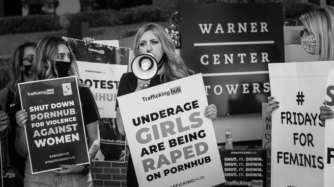 Pornhub is #Traffickinghub. Shut it down. https://t.co/0HPaWTMqMH