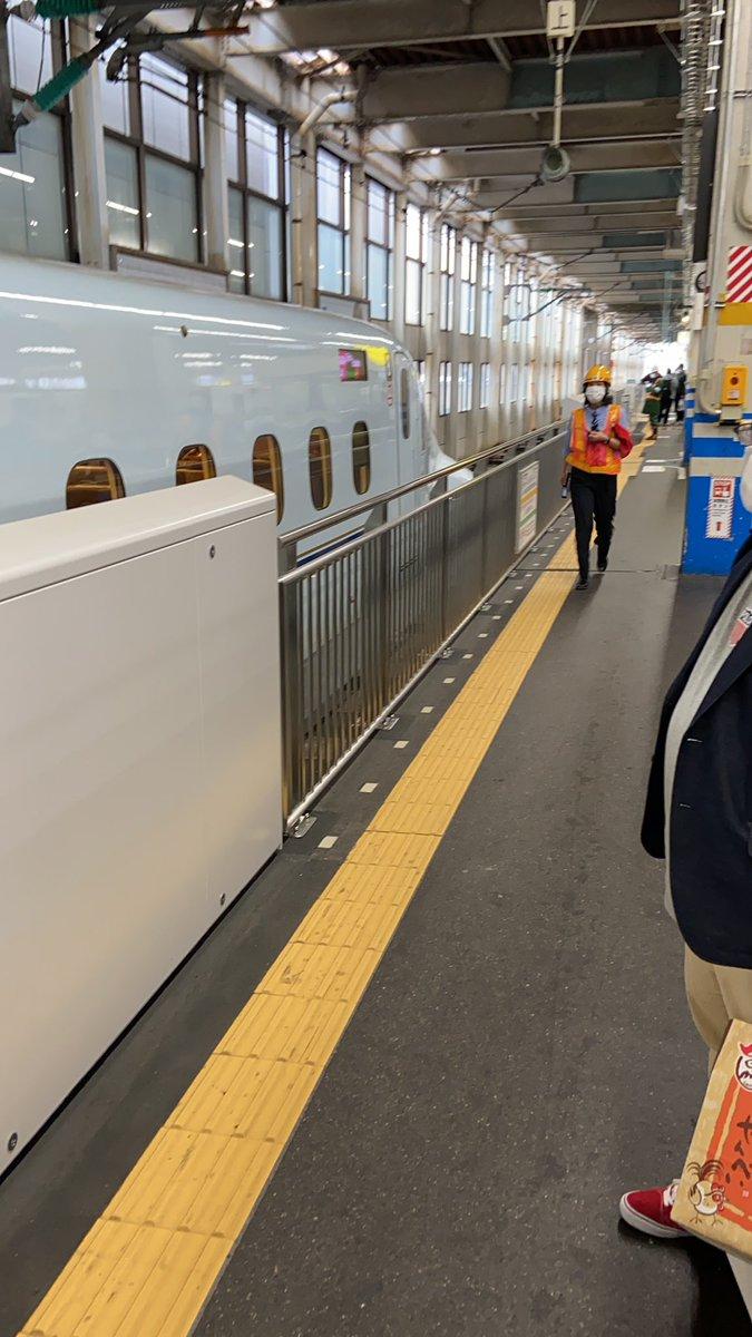 """なごみますお on Twitter: """"広島駅 新幹線止まる。新大阪行きさくら ..."""