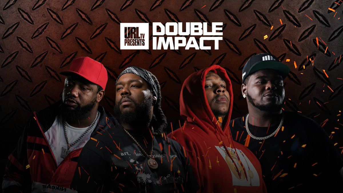 The event you've all been waiting for is happening now!  Watch #DoubleImpact ---> https://t.co/USP4mxSc3B https://t.co/dwoSNcCvdS