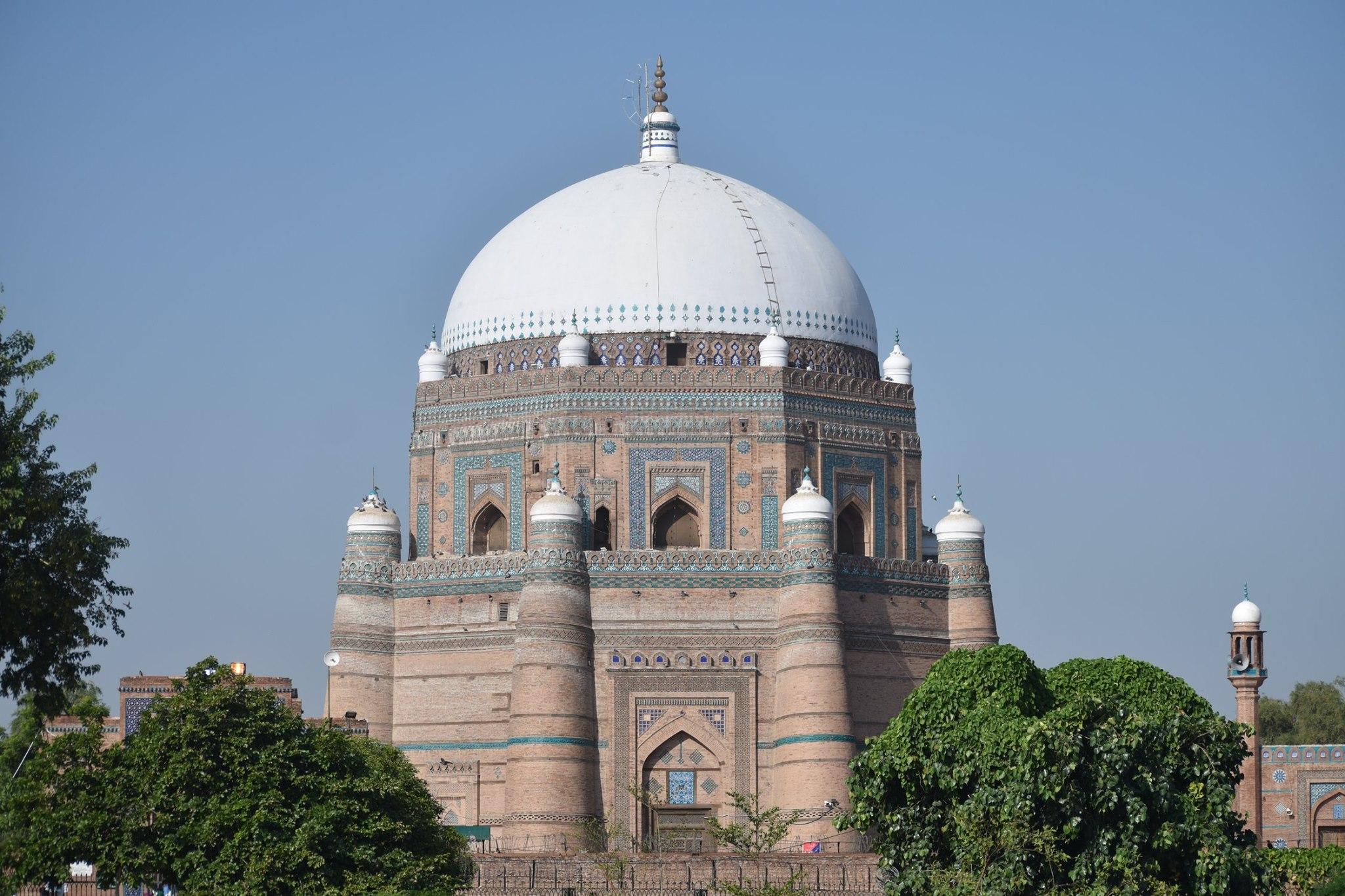 Shah Rukn e Alam's tomb at Multan