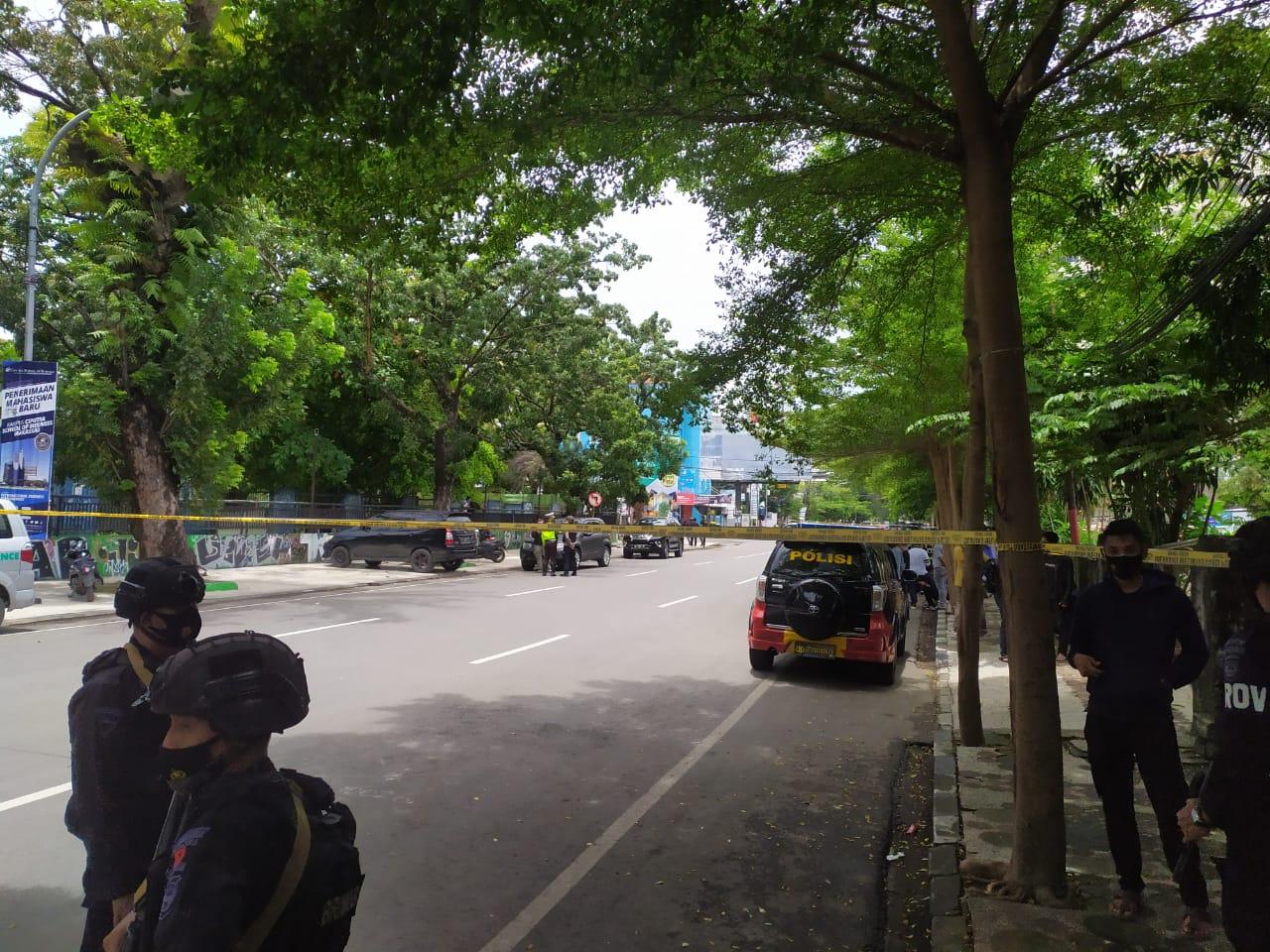 Ledakan Bom di Gereja Katedral Makassar