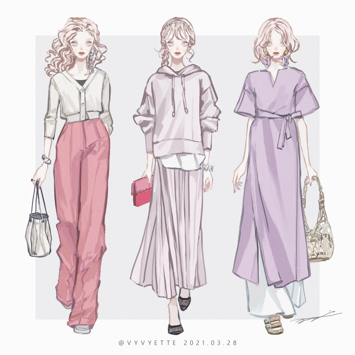これを参考にファッションセンターへGO!2021年春夏ファッションまとめ!