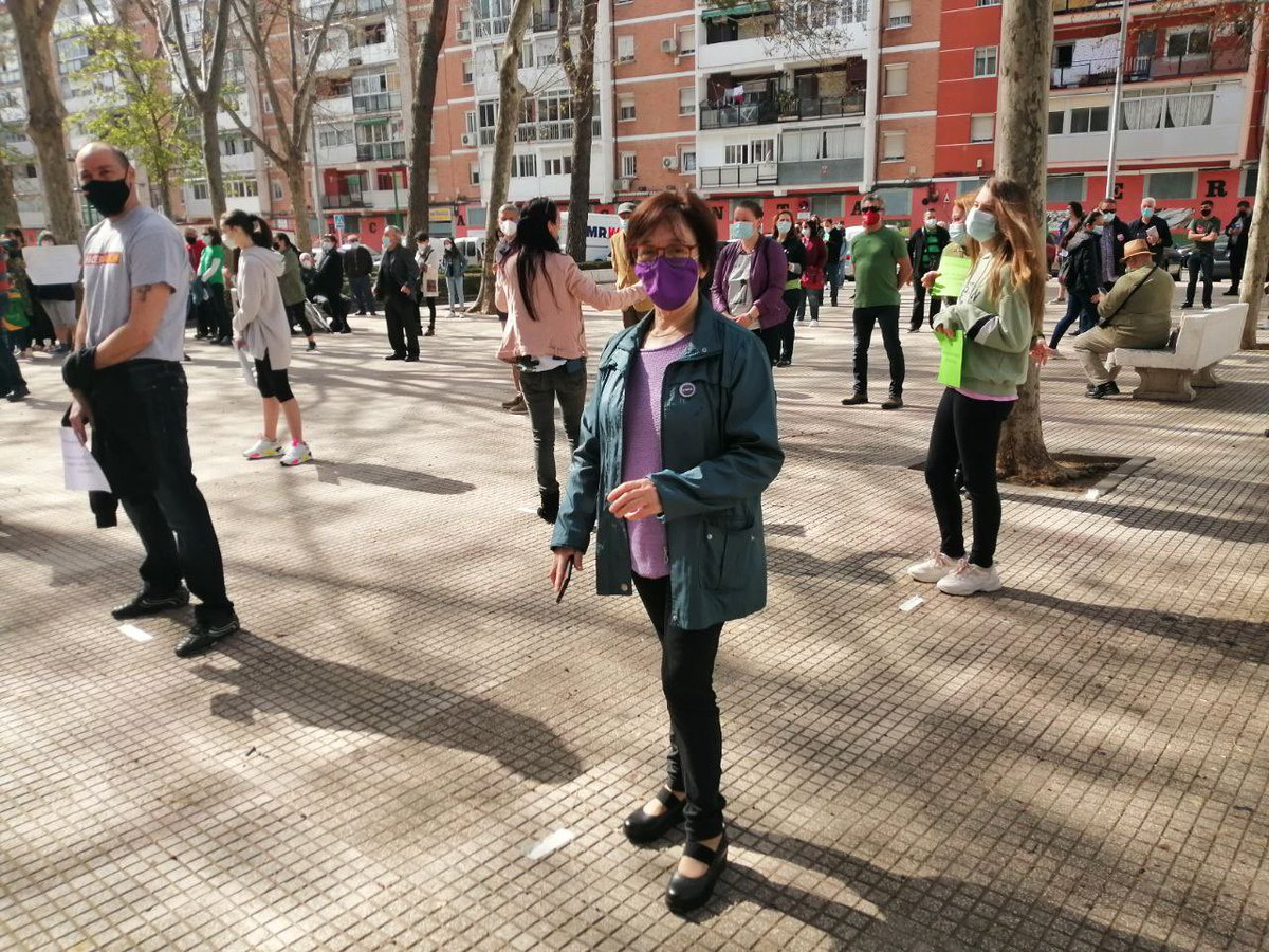 Foto cedida por Podemos Alcalá