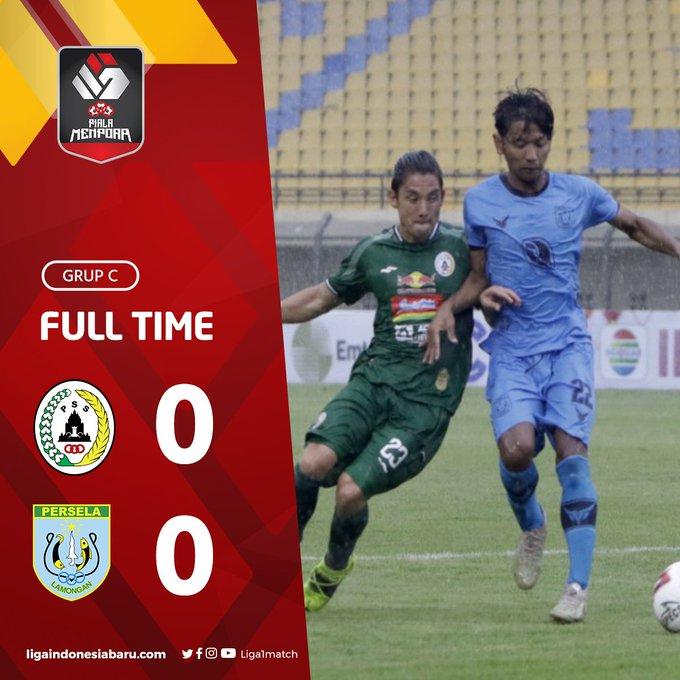 Skor akhir PS Sleman 0-0 Persela Lamongan