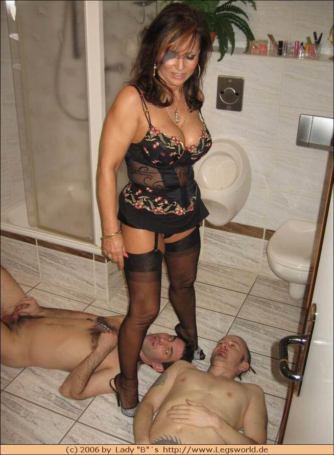 Mistress lady barbara piss