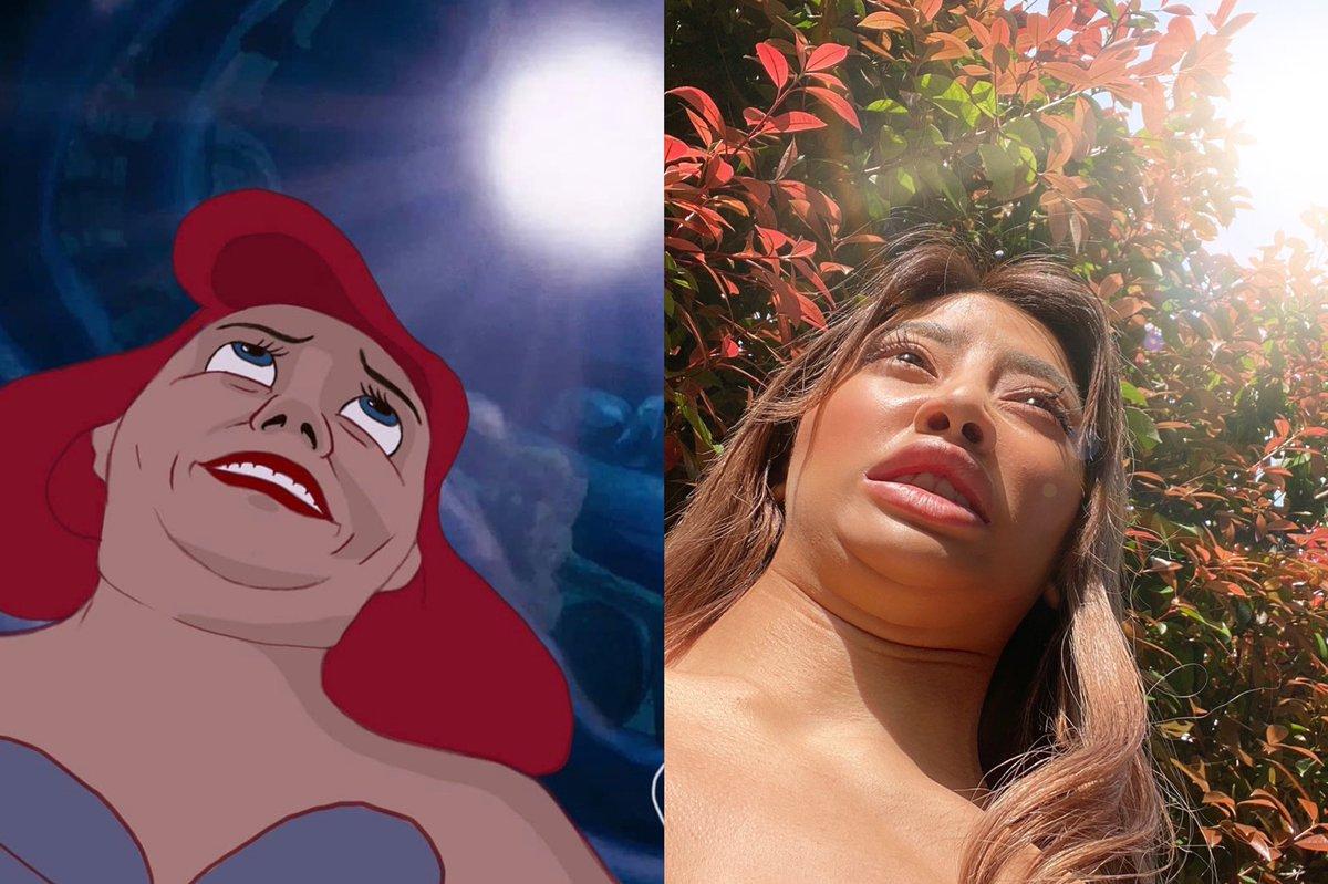 難しいはずが再現できている?ディズニーキャラのあの顔を再現した結果!
