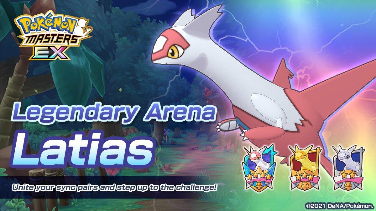 Combate Legendaria Latias Pokémon Masters