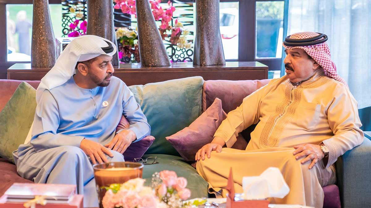 ملك البحرين يستقبل حمدان بن زايد بمقر إقامته في الرباط البيان القارئ دائما