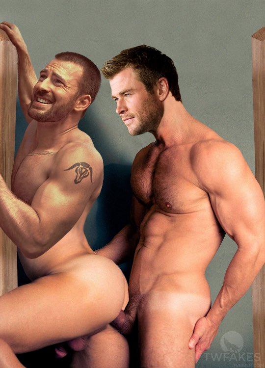 Gay Chris Evans Underwear