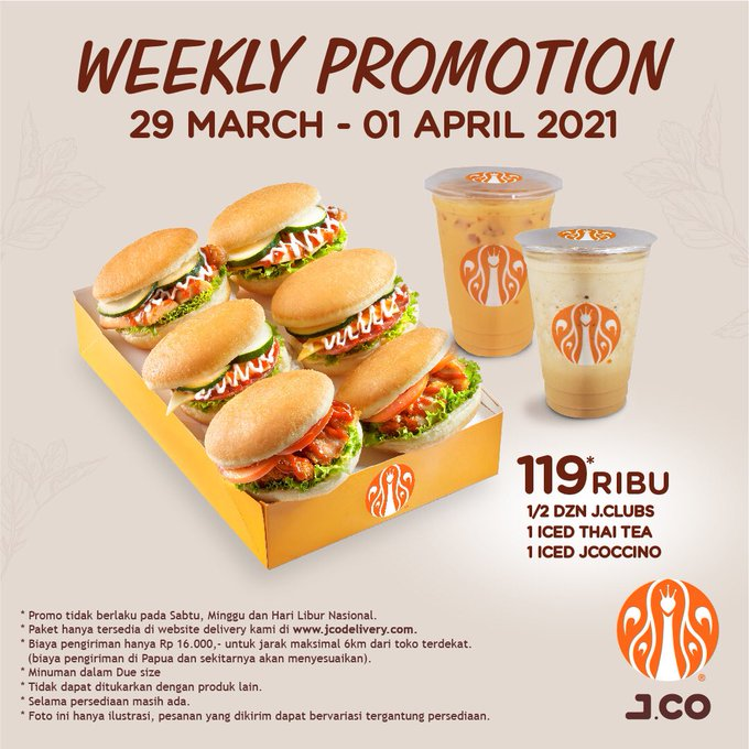 Weekly Promotion JCO
