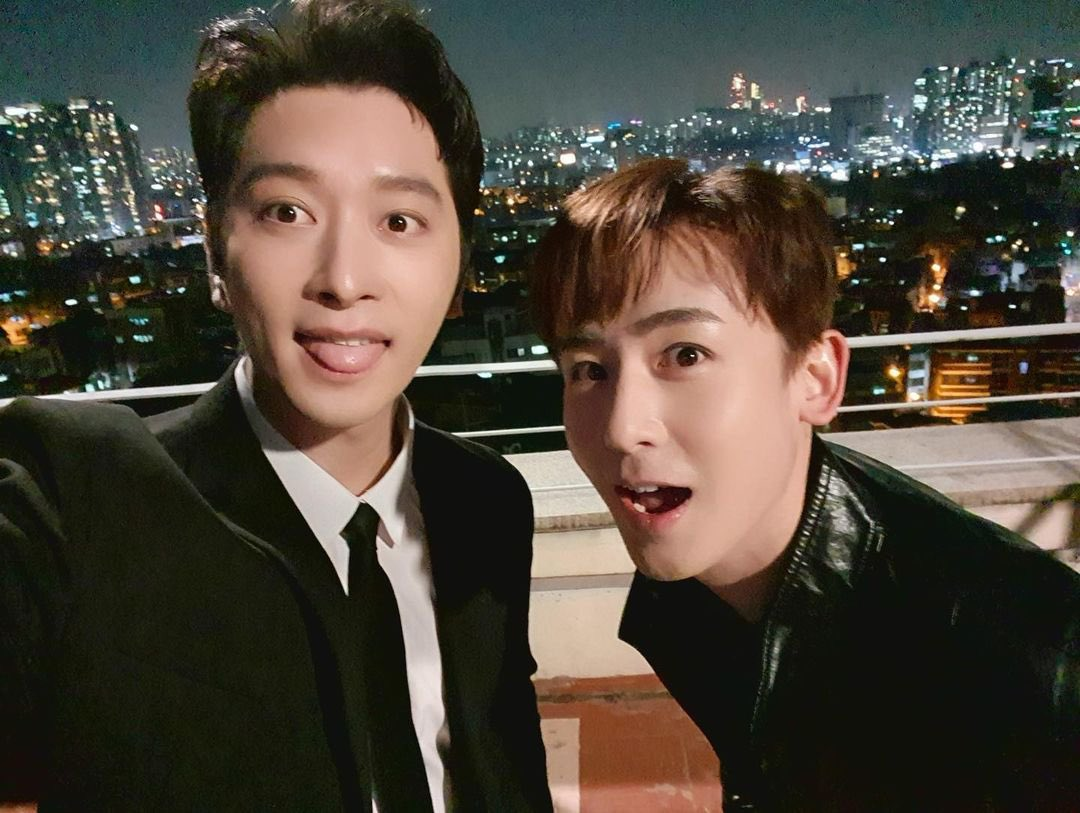 """️️ ️️️️️️️️️ ️️ ️️ ️️ on Twitter: """"#Vincenzo cameo pics of Nichkhun and  Chansung… """""""
