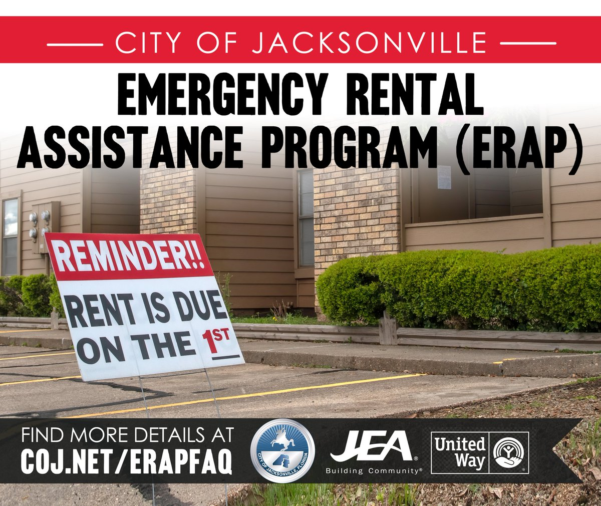 City Of Jacksonville Coj On Twitter The City Of Jacksonville S Emergency Rental Assistance Program Is Now Accepting Applications Online And In Person For Eligible Duval County Residents Apply In Person Or Online