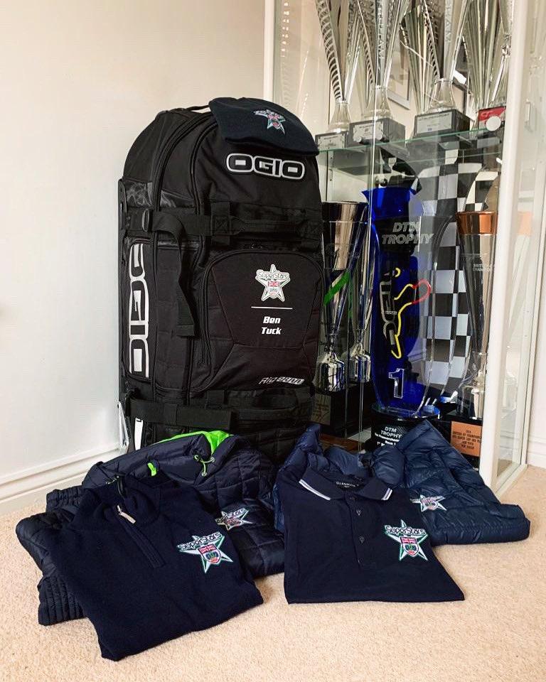 Big thank you to @BRDCSuperStars @BRDCSilverstone for the SuperStars kit!🤩