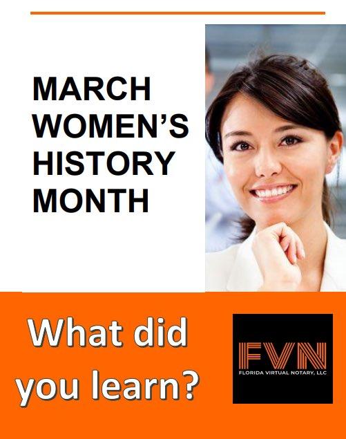 I'm listening! Are you? #WomensHistoryMonth #womensday2021 #WomenSupportingWomen #WomeninBusiness #notaryservices #marchforth #women #feminism #canyouwalkwithme