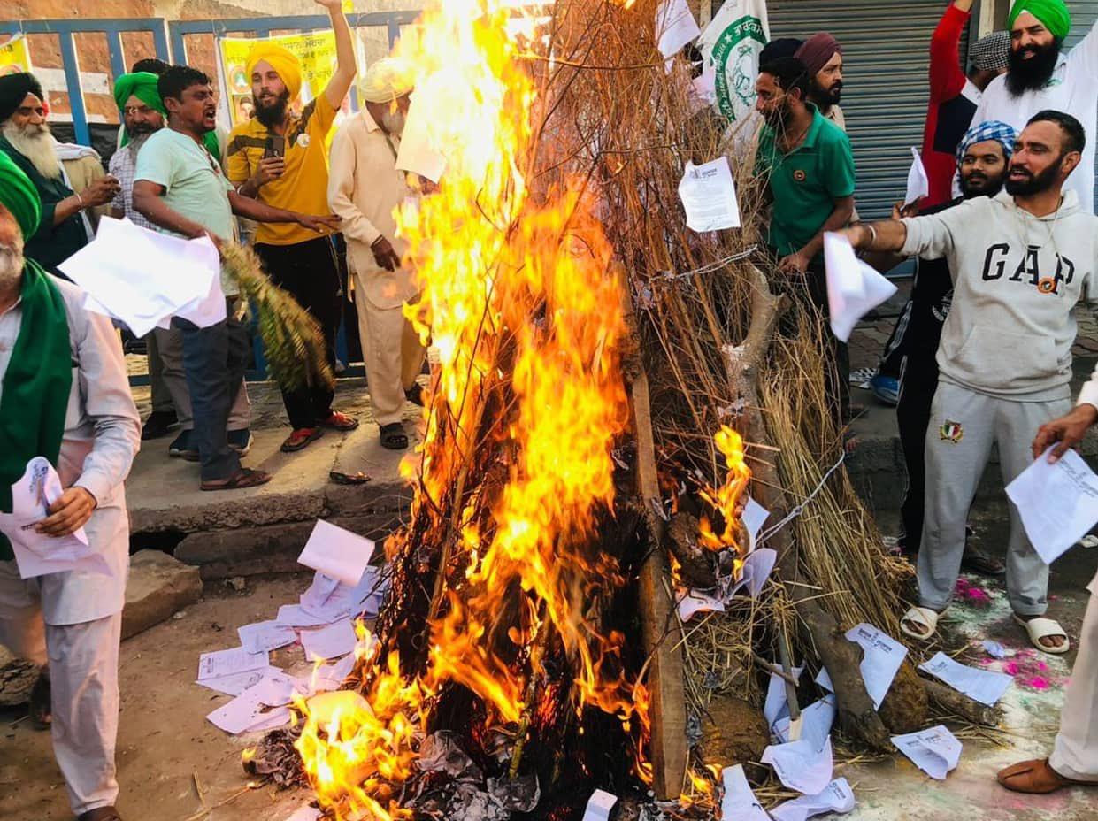 proteste contadini indiani