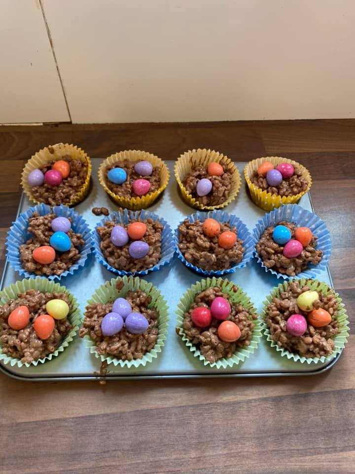 #Easter cakes made on The Hamptons today in the OT Baking 🐣 #occupationaltherapy #rehabilitation #rehab #mentalhealth #mentalhealthmatters #mentalhealthadvocate #dailymotivation #mentalhealthrecovery #keyworkers #recovery