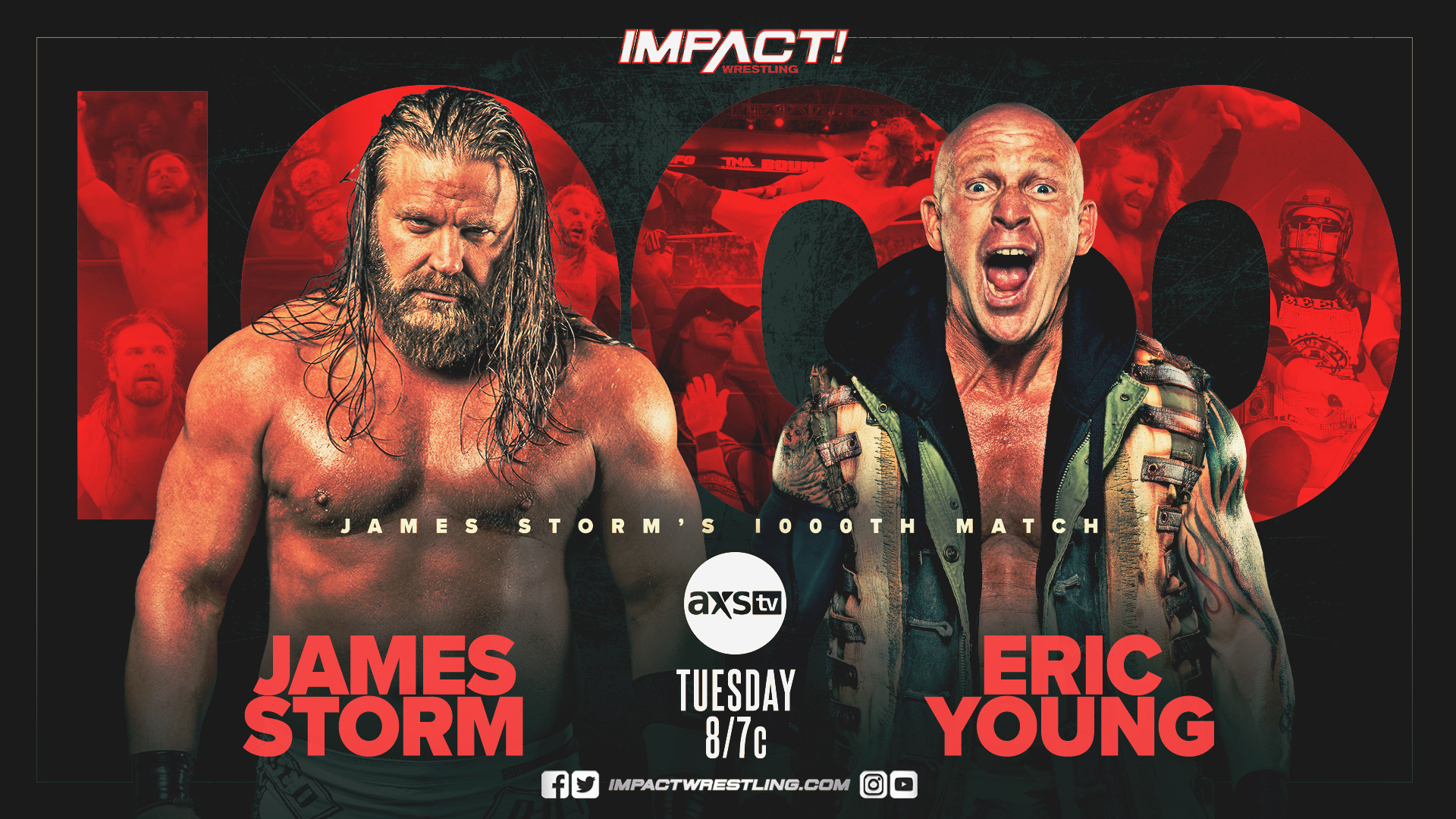 IMPACT Wrestling James Storm Eric Young
