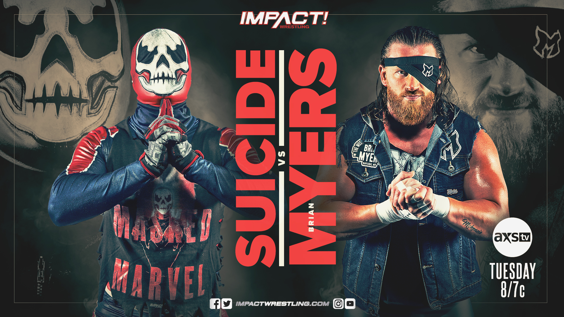 IMPACT Wrestling Suicide Brian Myers
